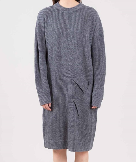NATIVE YOUTH Meridian Knitted Kleid grey