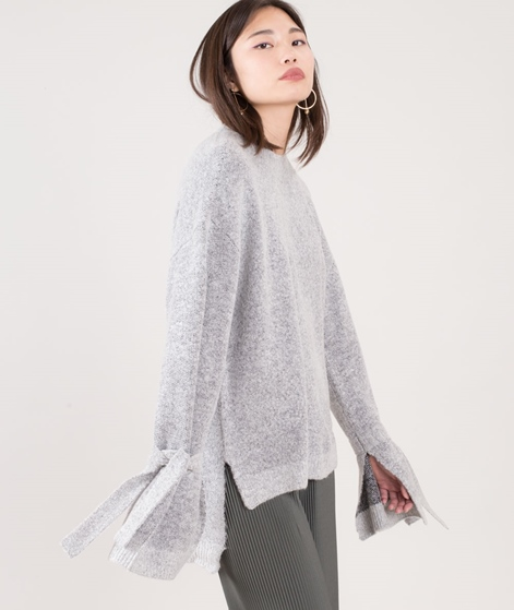 NATIVE YOUTH Luna Knite Pullover grey