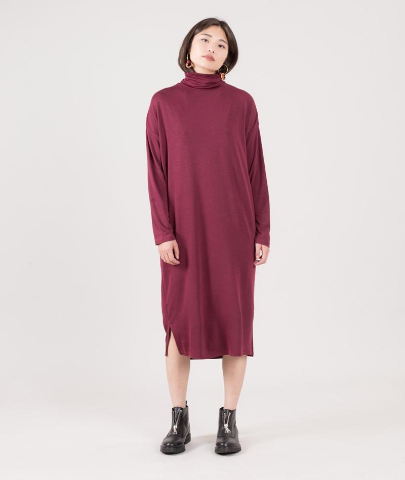 NATIVE YOUTH Nila Kleid burgundy