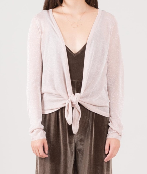 VILA Viinch Tie Cardigan peach whip