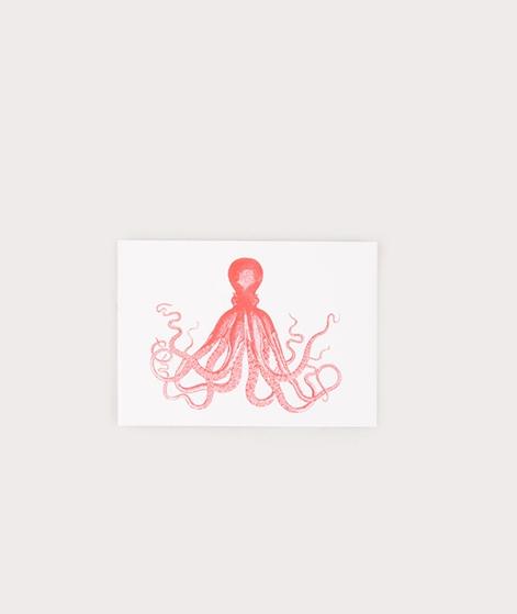 HERR UND FRAU RIO Oktopus Postkarte