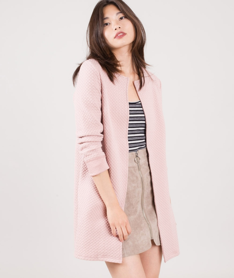 VILA Vinaja New Long Jacke adobe rose