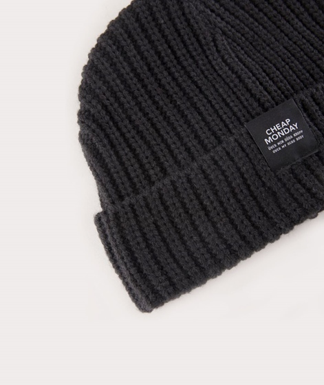 CHEAP MONDAY Skull Beanie black