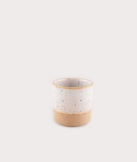 MADAM STOLTZ Two Tone Flower Pot off whi