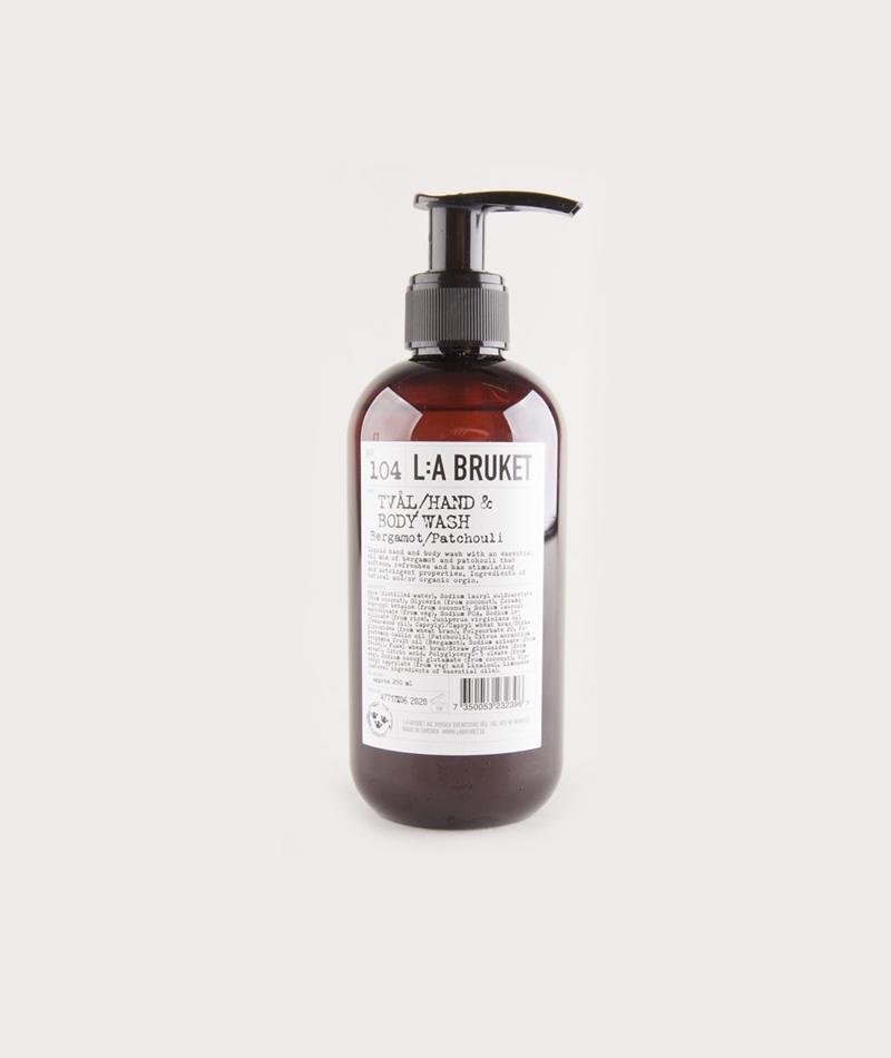 LA BRUKET No. 104 Body Wash Bergamot