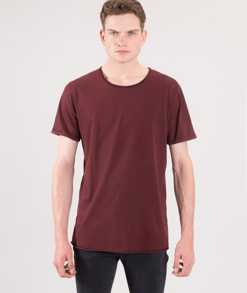 KAUF DICH GLÜCKLICH Tim T-Shirt wine red