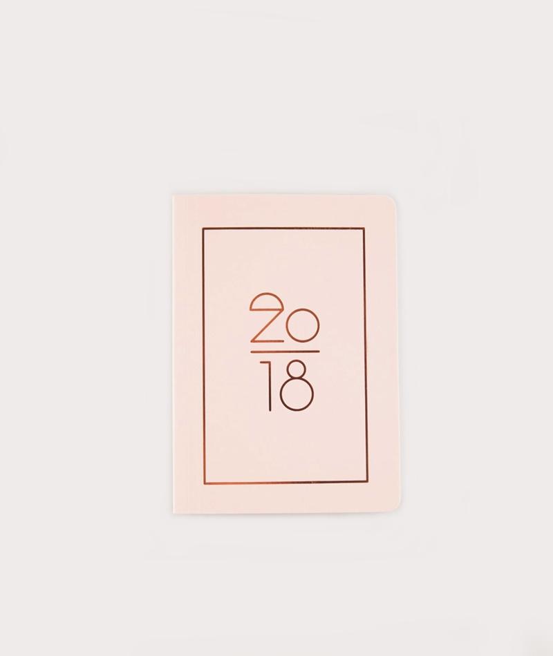 NAVUCKO Kalender 2018 rose