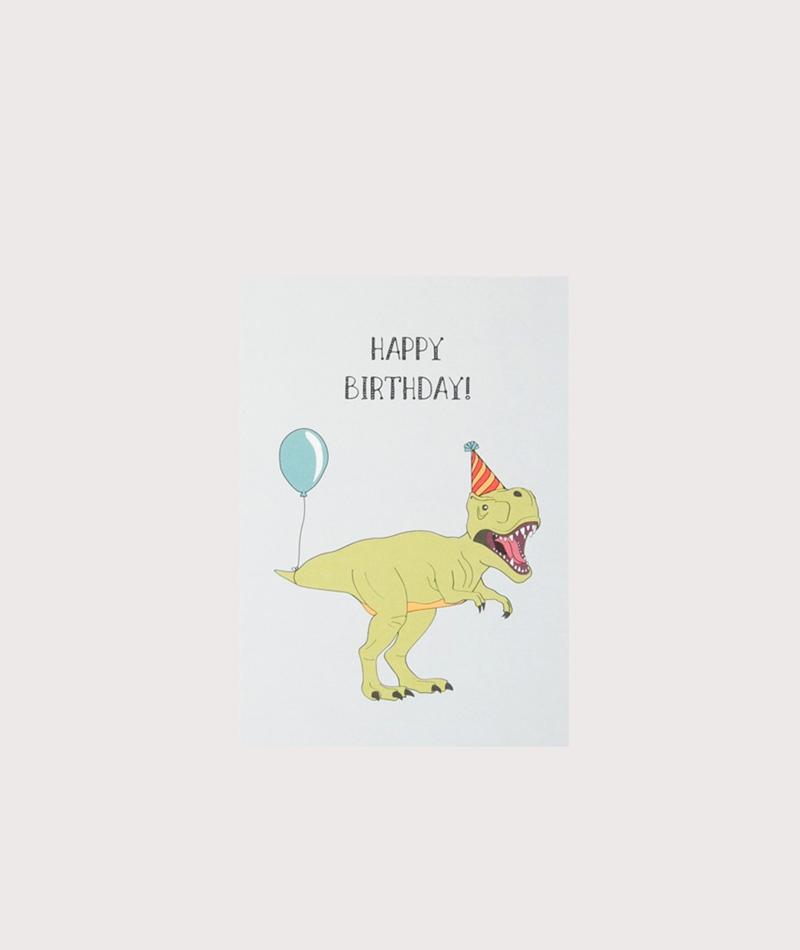 KAUF DICH GLÜCKLICH Postkarte Birthday