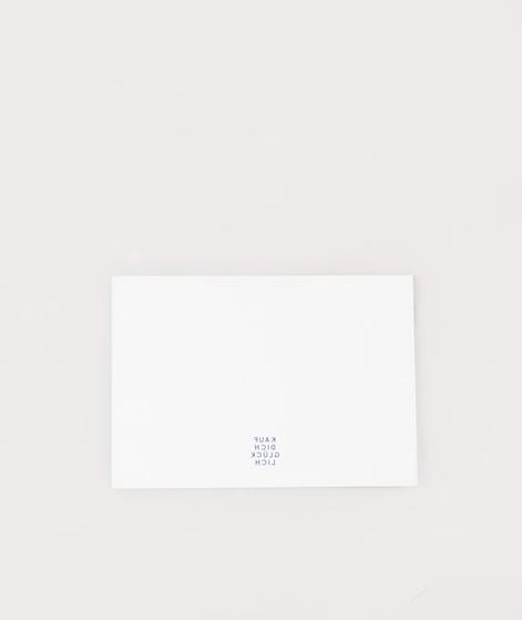 KAUF DICH GLÜCKLICH Postkarte Universe
