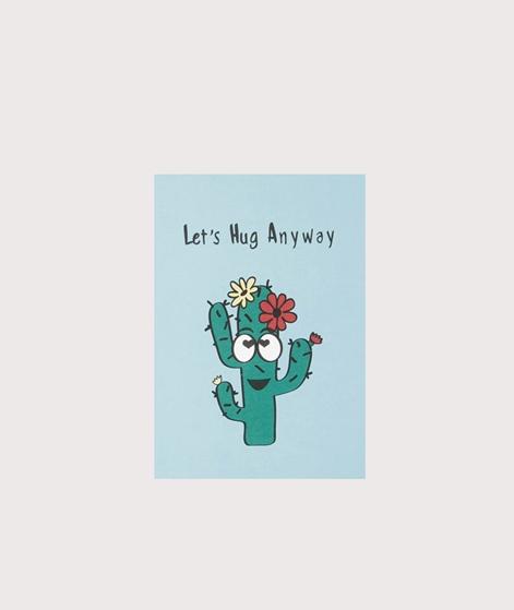 KAUF DICH GLÜCKLICH Postkarte Let`s Hug