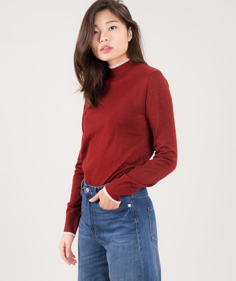 SELECTED FEMME SFCosta Scalop Longsleeve