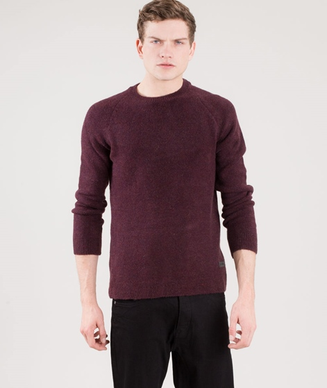JUST JUNKIES Cappy Pullover aubergine