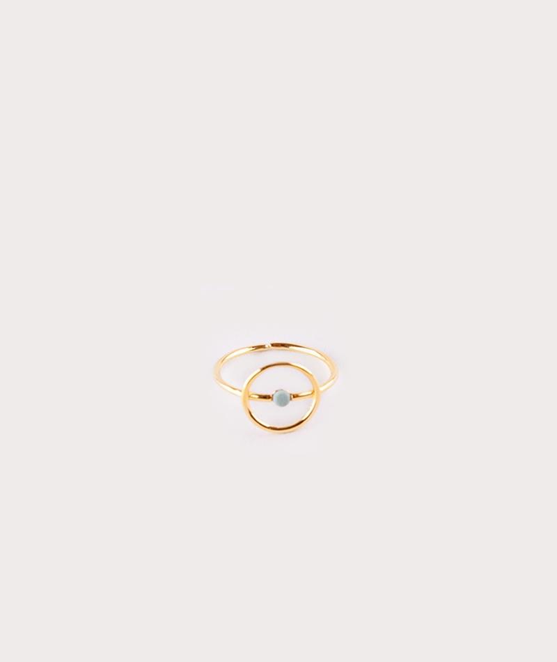 LOUISE KRAGH Microdot Ring gold