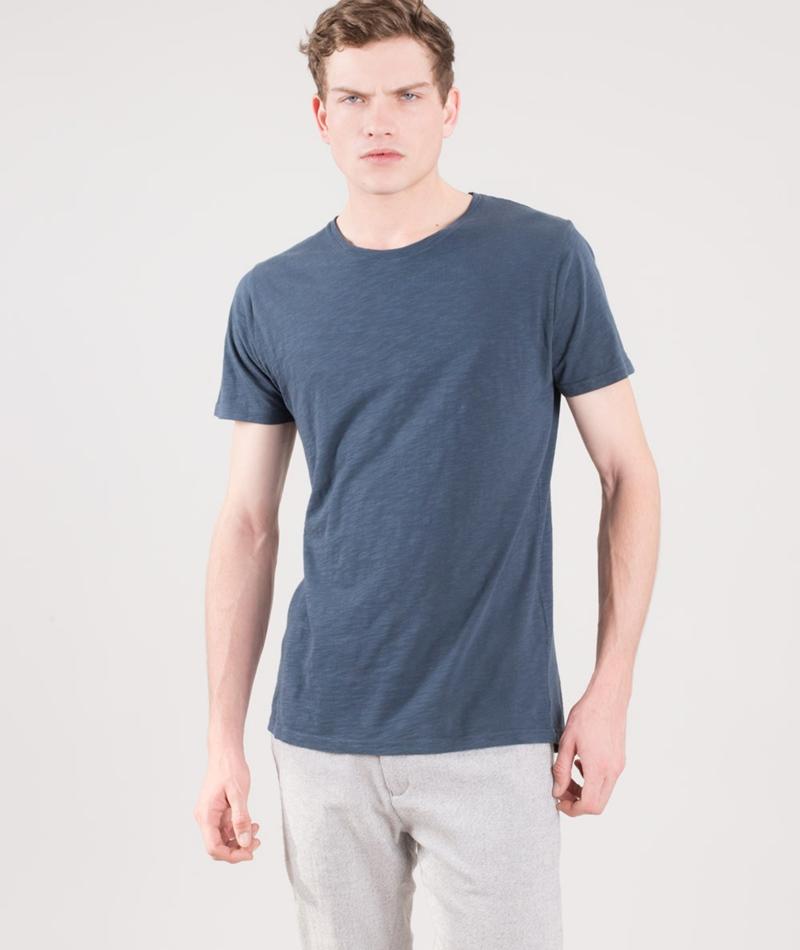 REVOLUTION Cotton Slub T-Shirt