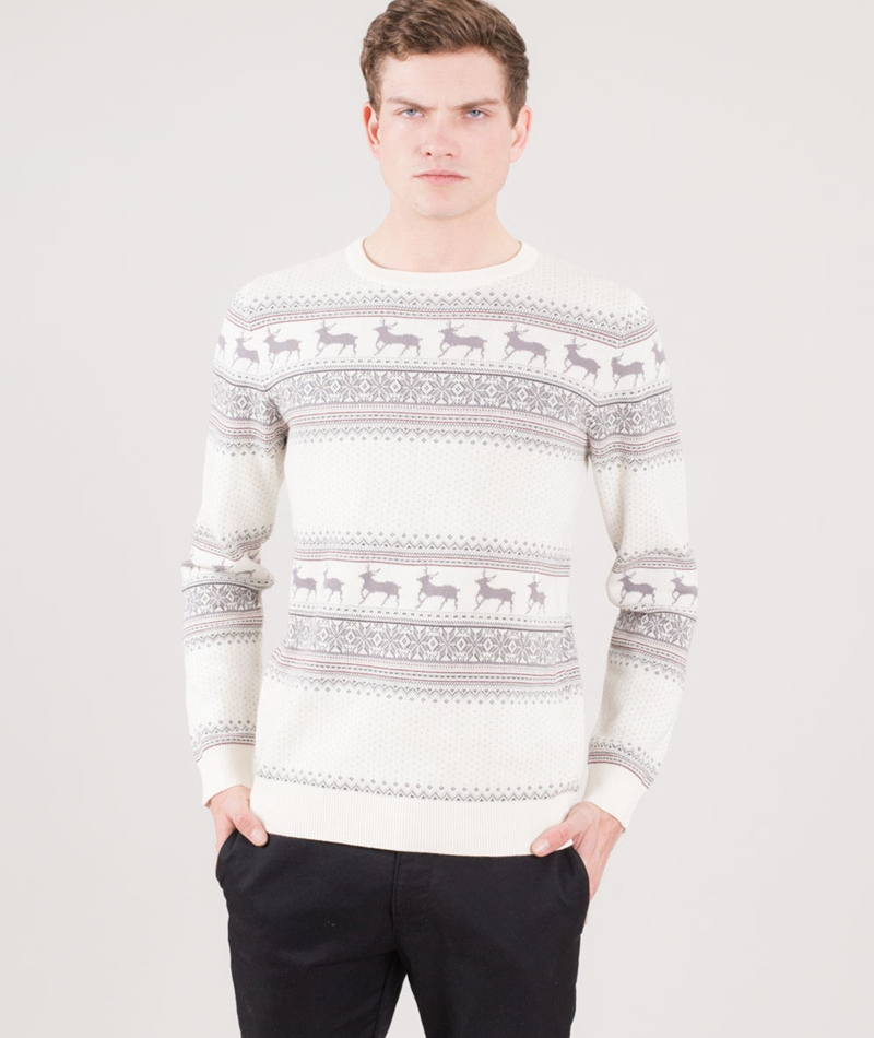 SELECTED HOMME SHXNew Reindeer Pullover