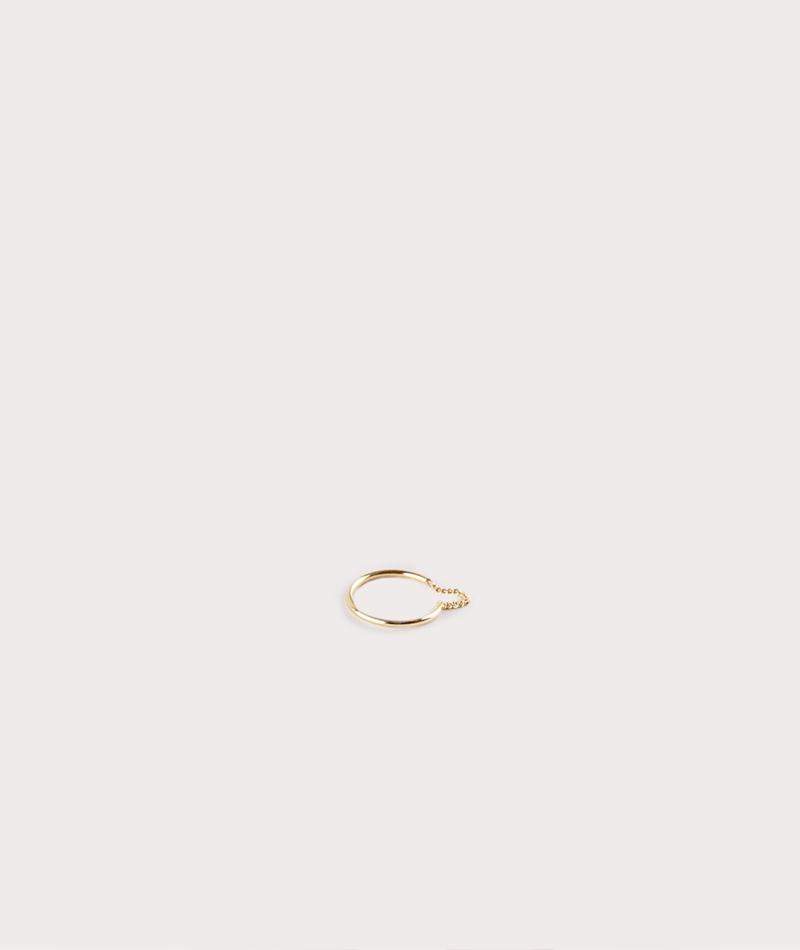 JUKSEREI Merge Ring gold