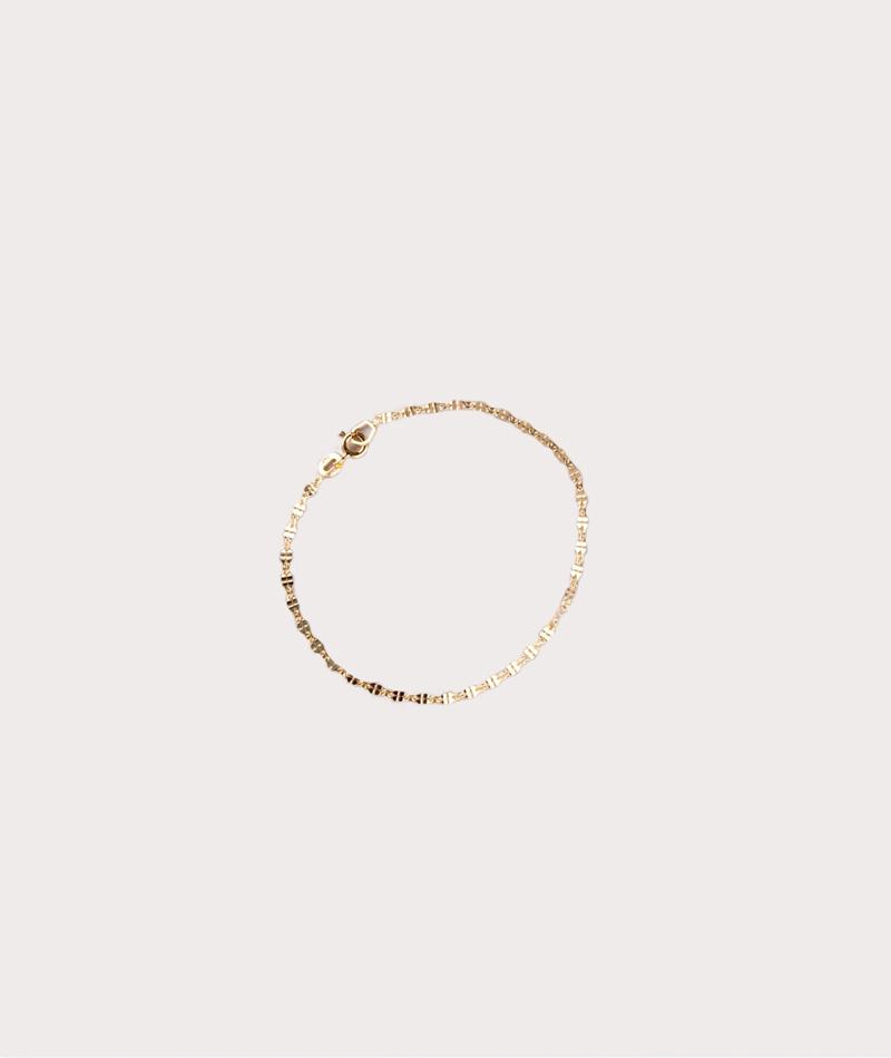 JUKSEREI Clover Armband gold