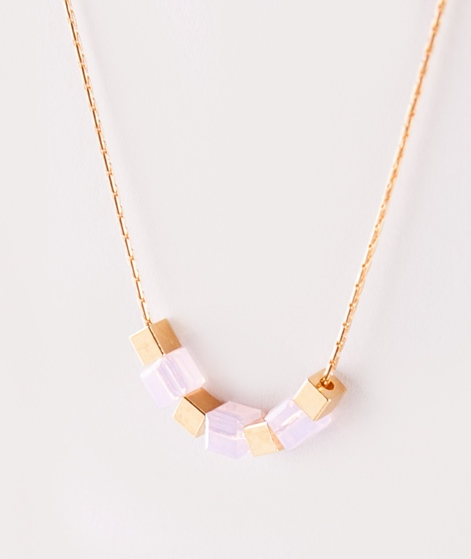 TOMSHOT Cube Kette gold violett