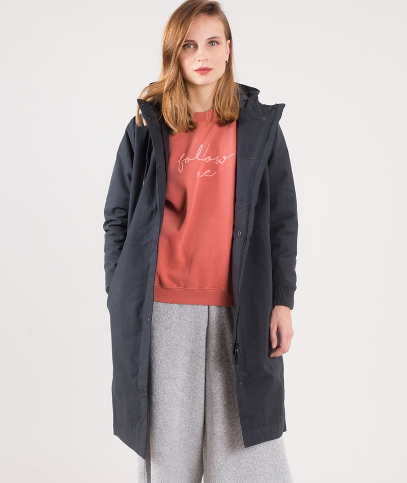 SELFHOOD Heavy Jacke navy