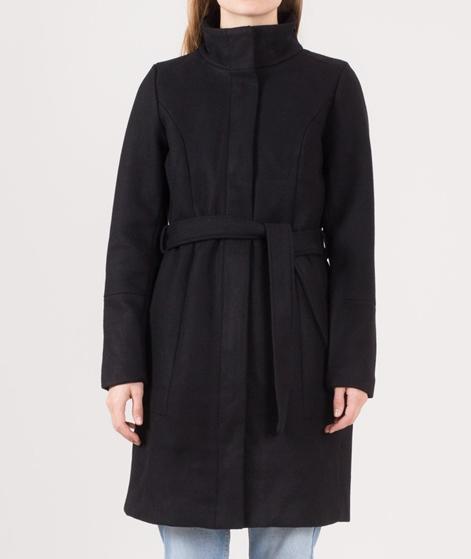 VILA Vibee Wool Mantel black