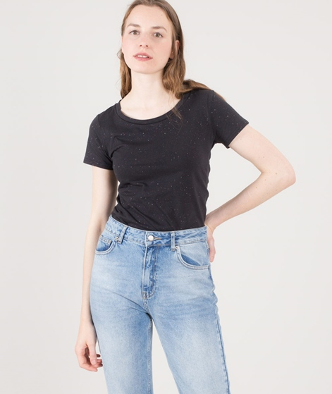 CHEAP MONDAY Home glitter T-Shirt anthracit