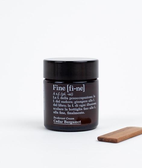 FINE Deodorant Cedar/Bergamot