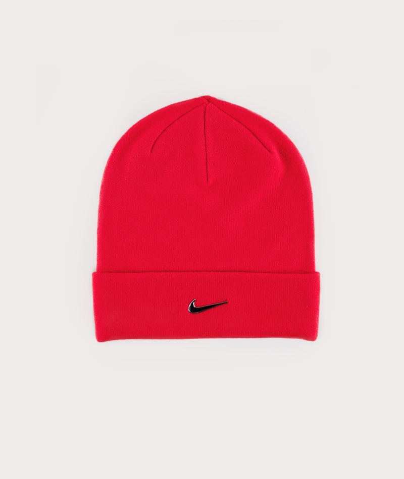 NIKE Swoosh Mütze red metallic