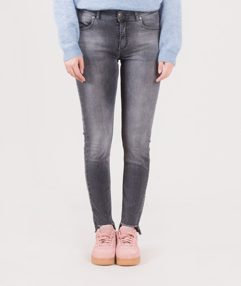 GOLBAL FUNK Thirteen Jeans dark grey hem