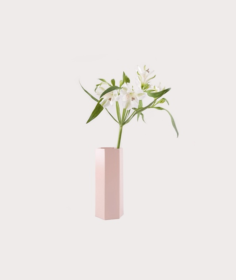 FERM Hexagon Vase rose