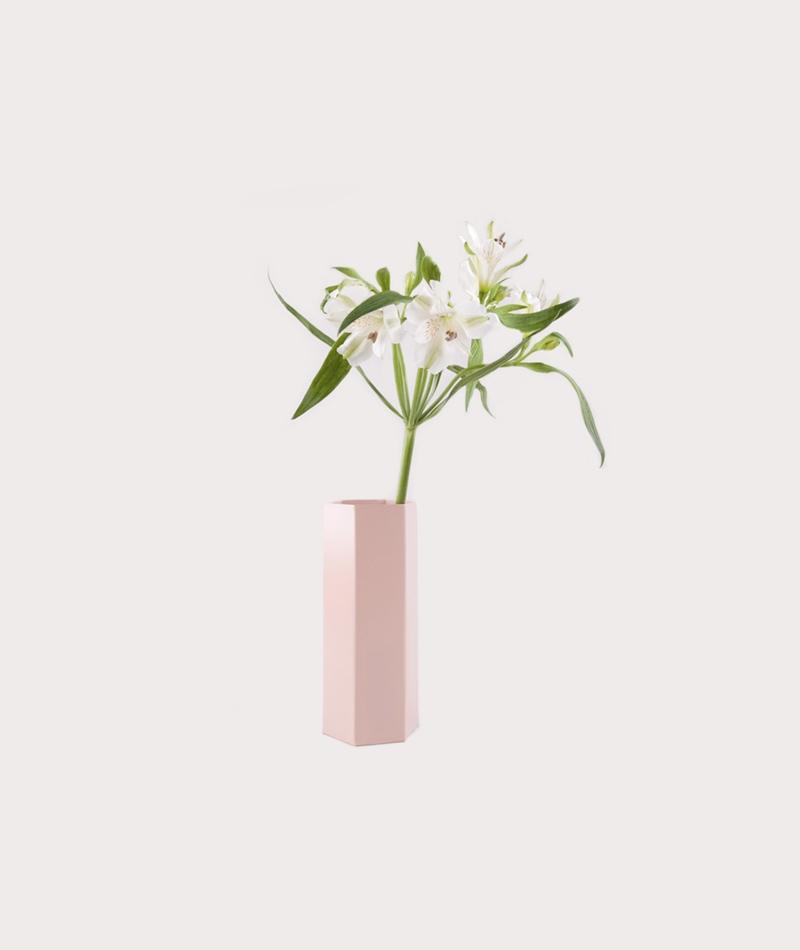 FERM Hexagon Vase rose