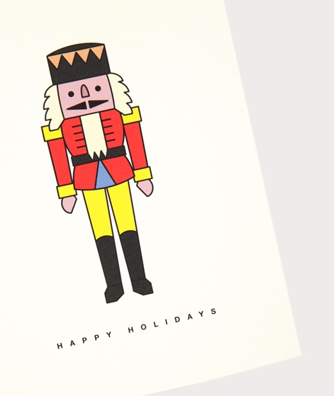 REDFRIES Happy Holidays Postkarte