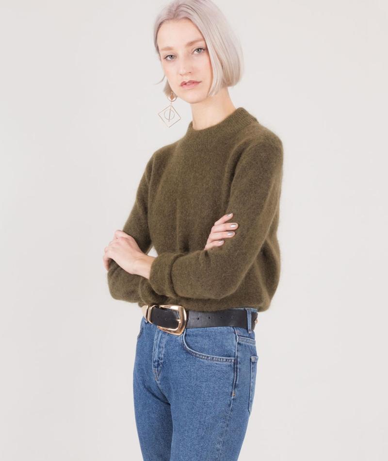 SECOND FEMALE Brook O-Neck Pullover