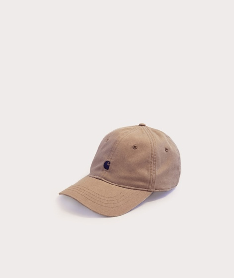CARHARTT Madison Logo Cap leather navy