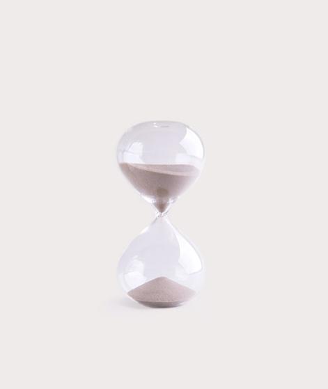 MADAM STOLTZ Hourglass 15 Min clear brau