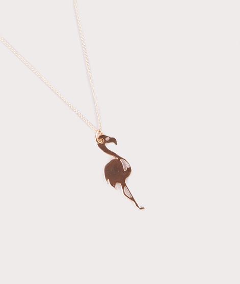 TOO DREAMY Flamingo Kette gold
