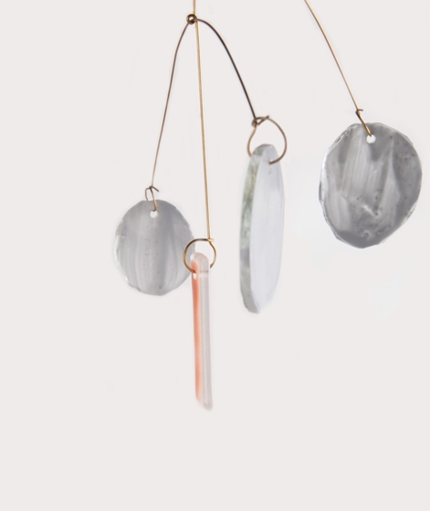ISAK GLAS Mobile glass S grey