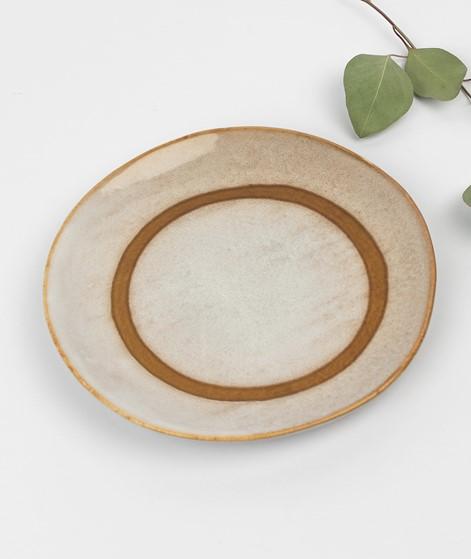 HKLIVING 70`s Dessertteller 17 beige