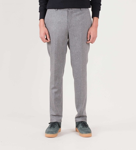 MINIMUM Grayson Hose grey melange