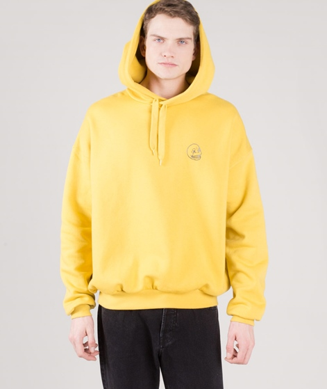 CHEAP MONDAY Goal Hoodie dirty yellow