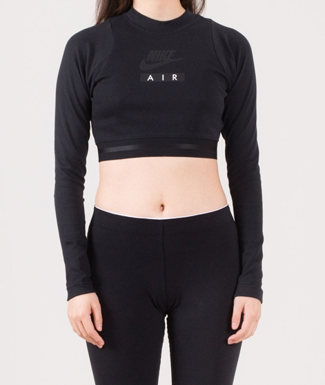NIKE W NSW Longsleeve Crop Air black
