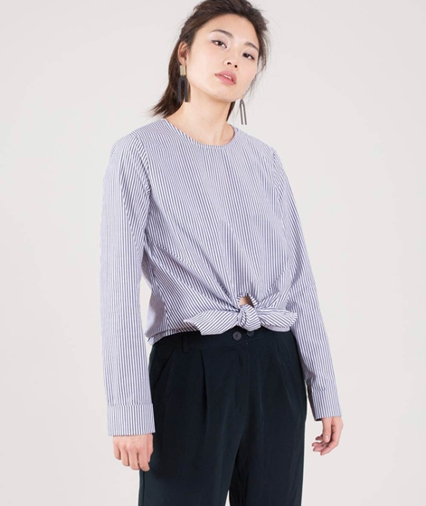 VILA Vijusty Bluse cloud dancer grey