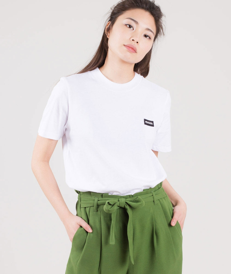 JUST FEMALE Feminin T-Shirt white