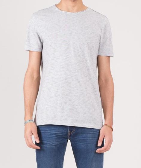 NOWADAYS Heather Stripe T-Shirt cloud