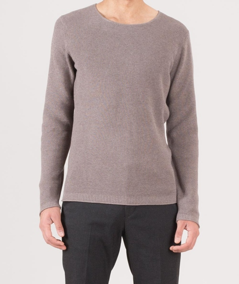 NOWADAYS melange structure Pullover grey