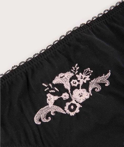 Vila Viembla Mesh Midi Panty black