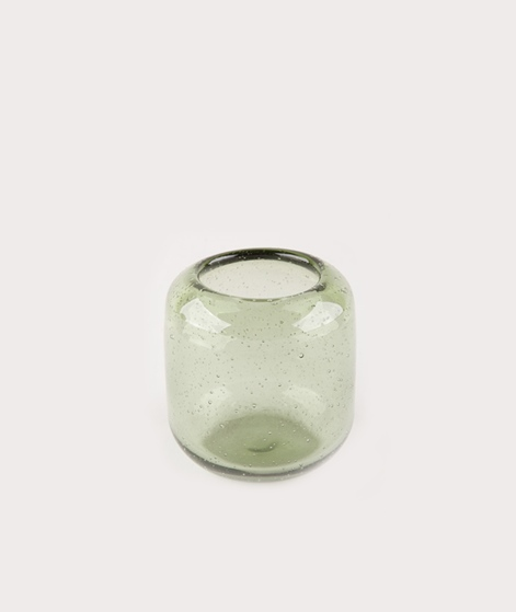 BLOOMINGVILLE Votive Vase green