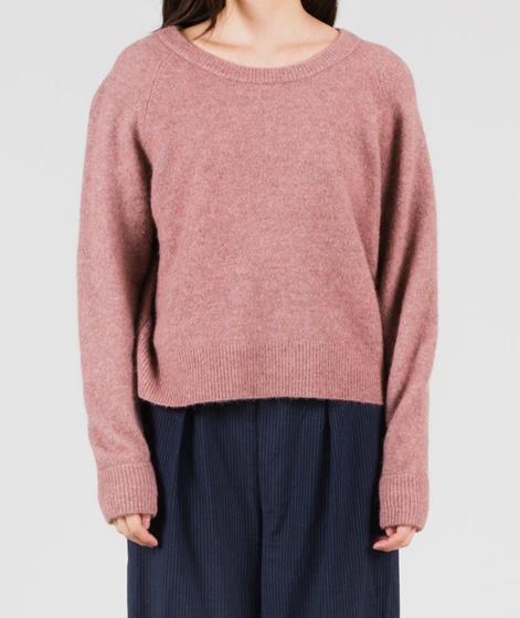 SAMSOE SAMSOE Nor O-N short Pullover mauve