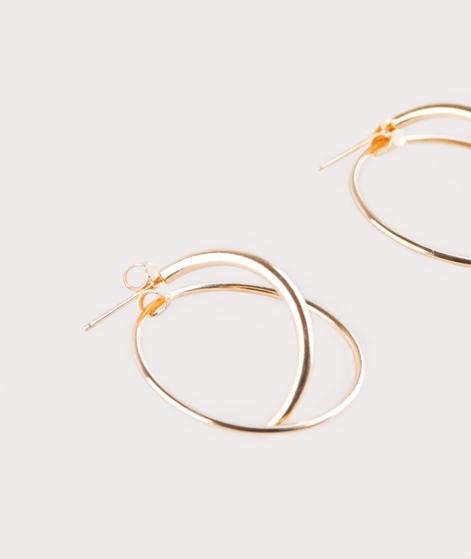 JUKSEREI Orbit Ear Stud Ohrring gold