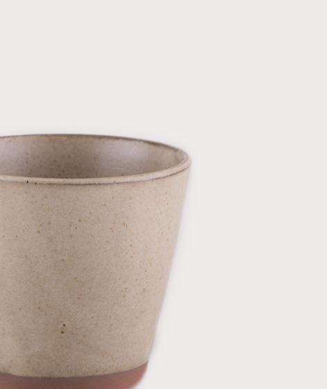 MADAM STOLTZ Stoneware Mug sand