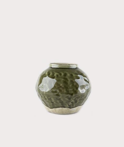 MADAM STOLTZ Vase green